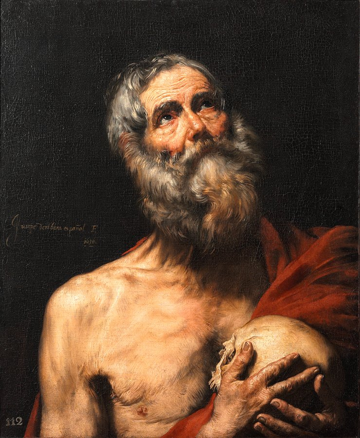 St. Hieronymus, Jusepe de Ribera, 1636, Arp Museum Bahnhof Rolandseck / Collection Rau for UNICEF © Photo: Mick Vincenz