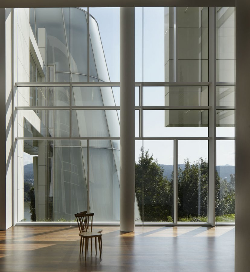 View from the Lobby of the Richard Meier building © U. Pfeuffer