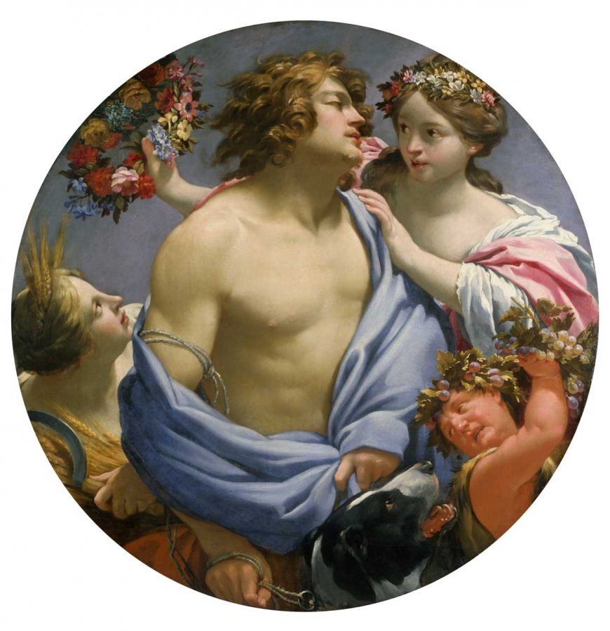 Simon Vouet,  The Four Seasons, 1644-45 © and Photo: Dublin, National Gallery of Ireland