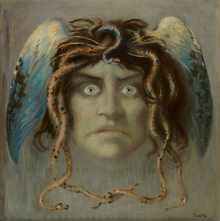 Head of the Medusa, Franz Xaver Wölfle (1887 - 1972), n.d., Collection Rau for UNICEF