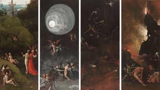 Jheronimus Bosch Visions of the Hereafter, ca. 1505-15 Venezia, Museo di Palazzo Grimani 1 2