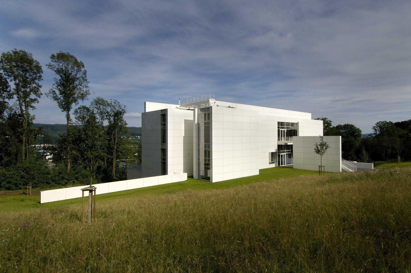 Der Neubau von Richard Meier © Arp Museum Bahnhof Rolandseck, Foto: Wolfgang Morell