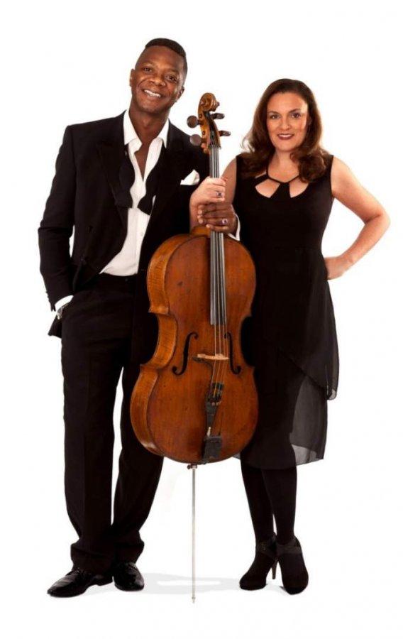 Rebecca Carrington und Colin Brown