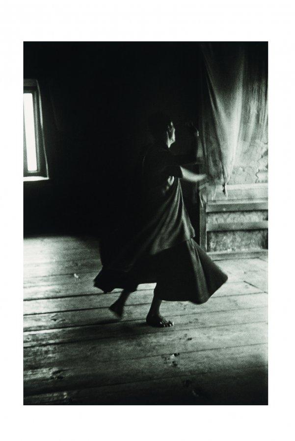 Gotthard Graubner, Mönche im Kloster Wangdue Phodrang in Bhutan, 1976 ©  VG Bild-Kunst, Bonn 2018