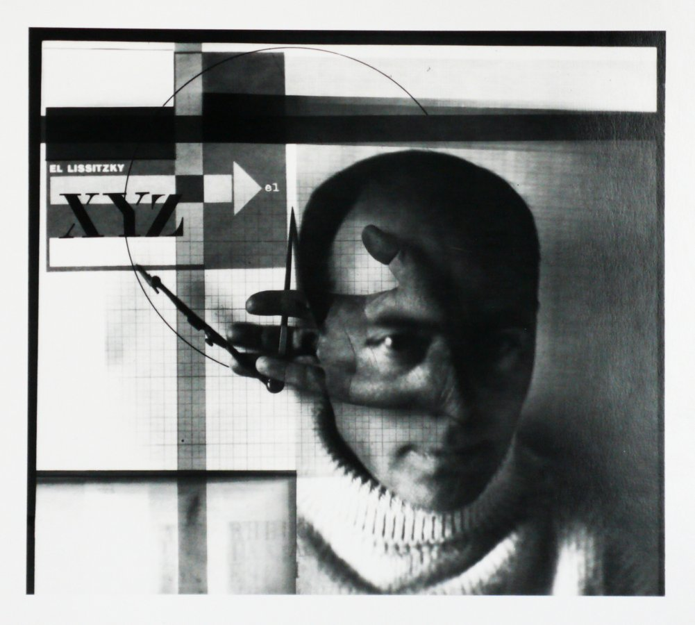 Der Konstrukteur (Selbstportrait), El Lissitzky, 1924 © Foto: Gerhard Meerwein
