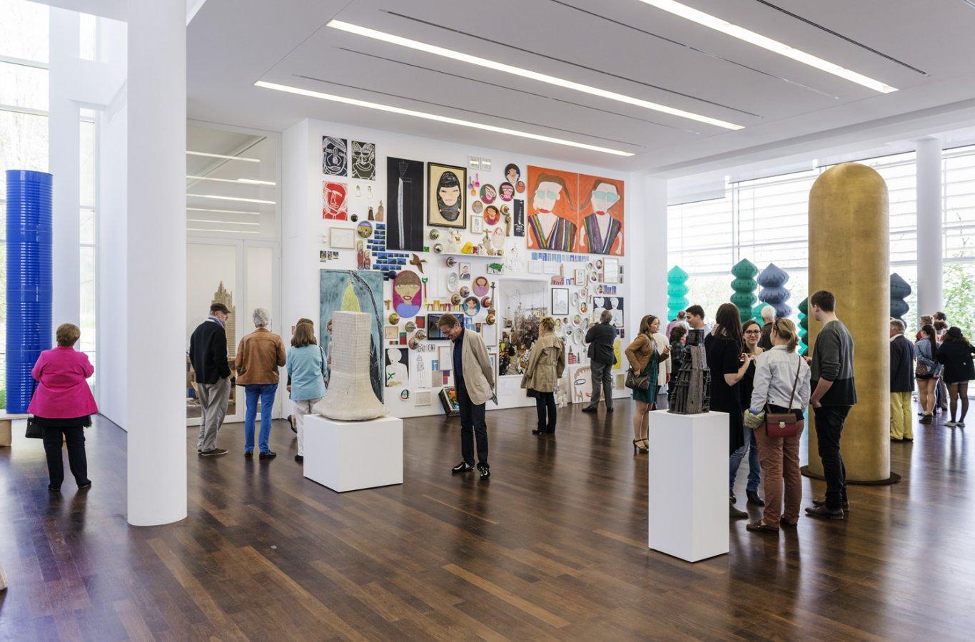 Exhibition View »Macht. Wahn. Vision«, 2014 © Arp Museum Bahnhof Rolandseck, photo: David Ertl