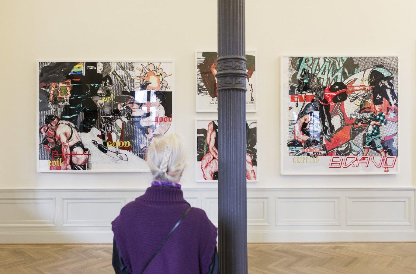 Ausstellungsansicht »o.T.«, 2015 © Arp Museum Bahnhof Rolandseck, Foto: David Ertl
