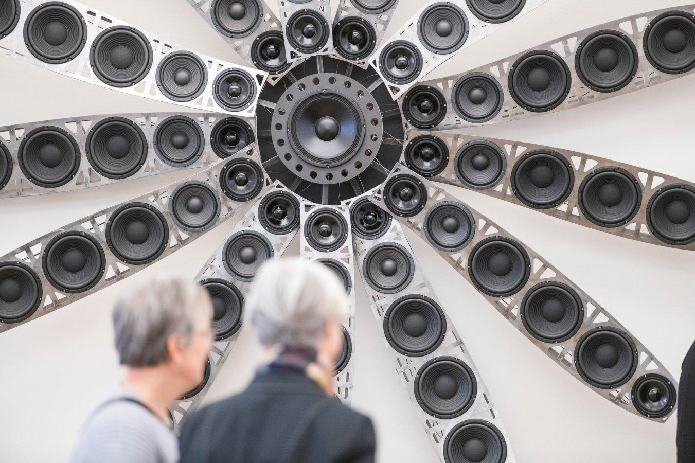 Ausstellungsansicht: René Hüls, Industrie Instrumente, 2019 © Foto: David Ertl