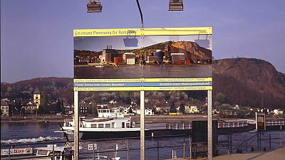 Thomas Huber – Ein neues Panorama für Remagen and Neugestaltung der Promenade von Remagen
