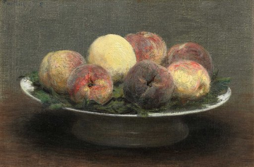 Henri Fantin-Latour - Stillleben mit Pfirsichen