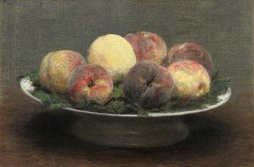 Henri Fantin-Latour - Still Life with Peaches