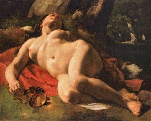 Gustave Courbet - Bacchante