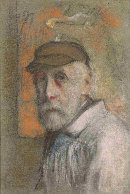 Edgar Degas - Selbstporträt