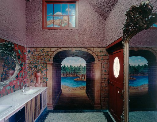 Stephen McKenna - Decoration of the toilets