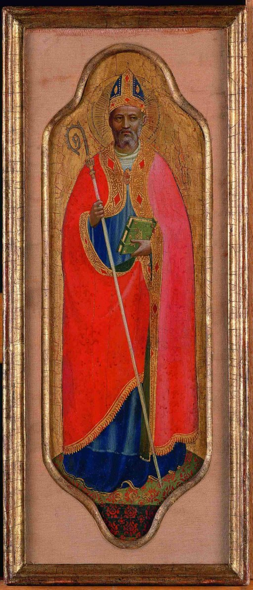 Fra Angelico - Saint Nicholas of Bari and Archangel Michael