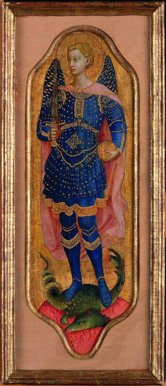 Fra Angelico - Heiliger Nikolaus von Bari und Erzengel Michael