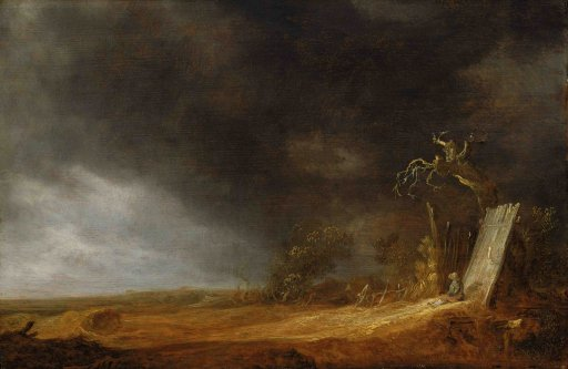 Jan van Goyen - The Storm