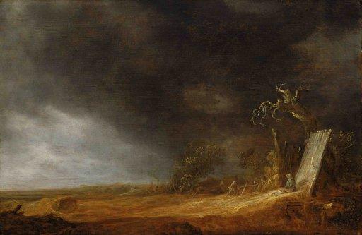 Jan van Goyen - Das Gewitter