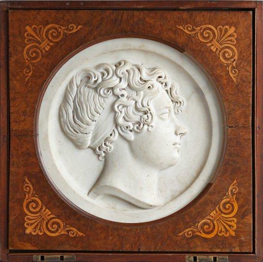 Sir Francis Leggatt Chantrey - Portrait of a Woman in Profile