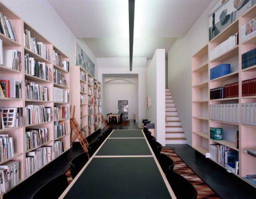 Thomas Huber - Gestaltung der Bibliothek