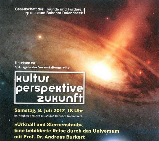 Kultur | Perspektive | Zukunft »Urknall und Sternenstaub – Eine bebilderte Reise durch das Universum mit Dr. Andreas Burkert«