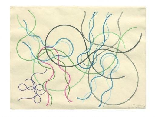 Sophie Taeuber-Arp – Crayon drawings