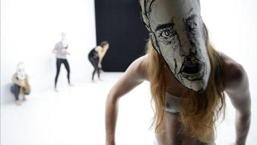 »Tanz und Maske« - Choreografien von Hannah Ma und Reut Shemesh