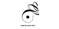 Logo Dada100Zürich2016