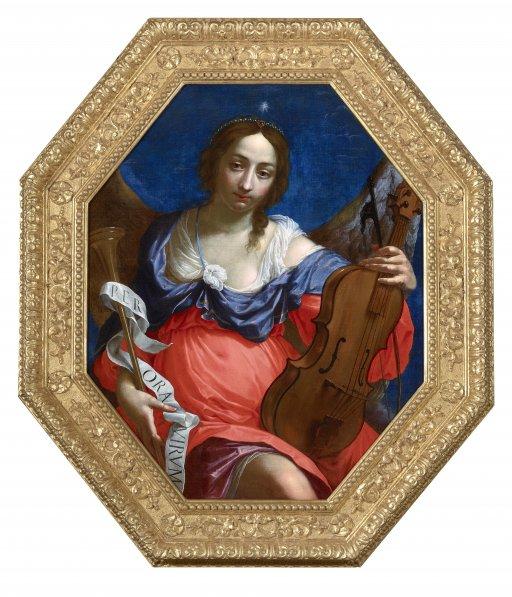 Cesare Dandini (1596–1657), Allegorie der Musik, 17. Jh.